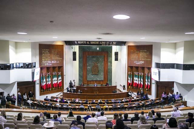 Sesión Solemne de Instalación de la LXIV Legislatura del Viernes 1 de Octubre de 2021